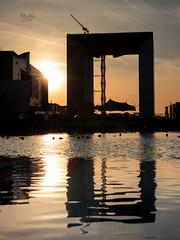 Grande Arche (XILAG Pictures) Tags: 35mm 35mmf14dghsmart dri dynamicrangeincrease idf iledefrance ladefense paris sigma sigma35mmf14dghsmart sunset