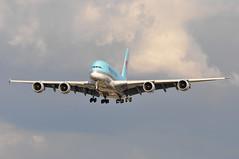 KE0907 ICN-LHR (A380spotter) Tags: landing approach arrival finals shortfinals airbus a380 800 msn0075 hl7615 대한항공 koreanair kal ke ke0907 icnlhr runway27r 27r london heathrow egll lhr