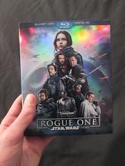 Bought Rogue One! (Quick Update) (JLM Bricks) Tags: starwars rogueone movie bluray dvd digitalhd
