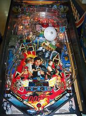 Golden Eye (scottamus) Tags: pinball machine game table playfield layout design graphics art artwork goldeneye goldeeye sega 1996 jamesbond