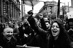Thousands of Serbs protest against big election win for PM Vucic (Zlatko Vickovic) Tags: streetstreetphoto streetphotography streetphotographybw streetbw streetphotobw blackandwhite monochrome zlatkovickovic zlatkovickovicphotography novisad serbia vojvodina srbija bezstraha serbiaprotest samojako izbori2017 documentary journalism