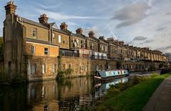 Rising Damp? (NoVice87) Tags: canal boat barge grandunion houses terrace london