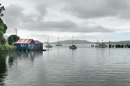 Careys Bay, Port Chalmers, Otago, New Zealand