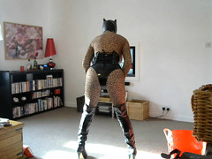 CatZen 5 (Kinkette Pec) Tags: kinkette fetish erotic drag mask masker femalemasking pvc corset kinky pervert perversion highheels rubber latex nylons bodystocking fishnets crossdressing crossdresser transvestite shemale trans lgbt