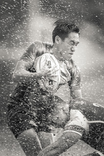 Rugby struggle with a splash [Explored]
