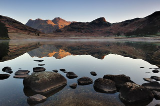 Langdales in light