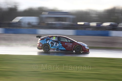 Jack Goff in race three at the British Touring Car Championship 2017 at Donington Park