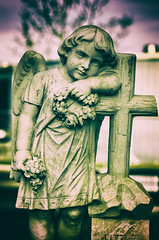DSC_2081-Edit-Edit (Michael Mckinney (Find my Twitter @MMckinneypho) Tags: cherub cemetery angel religious cross grave statue masonry graveyard stone calgary alberta canada
