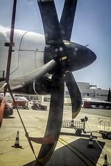Helice ATR-72 (ibzsierra) Tags: helice atr72 avion plane ibiza eivissa baleares canon 7d 24105isusm