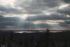 Not the Sunset (all martn) Tags: indian winter schnee snow spätwinter frühling spring sonne sonnenstrahlen sun rays