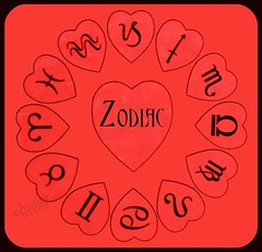Z is for . . . . . (heatherpix) Tags: alphabet zodiac symbols red