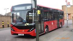 P1490286 1270 YX17 NWL at Leytonstone Station Kirkdale Road Leytonstone London (LJ61 GXN (was LK60 HPJ)) Tags: hackneycommunitytransportgroup ctplus enviro200 enviro200mmc enviro200d enviro200dmmc e200d majormodelchange mmc 109m 10870mm 1270 yx17nwl ctnew68 g2706