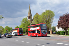 Buses off Route (John A King) Tags: diversion eltham route177 route422