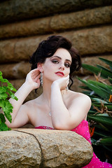 Marlie. (Wildeye Photography) Tags: model people portrait sassy young beauty darkhair eyes