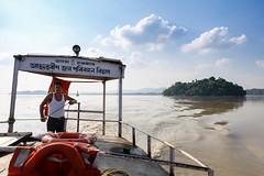 On the Brahmaputra (._-Patrick-_.) Tags: brahmaputra guwahati india northeast northeastindia boat river island umananda temple 5d 5diii 2470 l canon