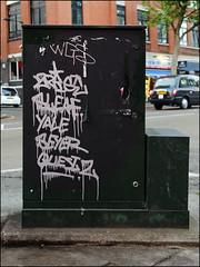 (Alex Ellison) Tags: urban graffiti graff boobs 2rise gw tag