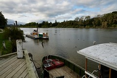 Boats on the river, Whanganui (jozioau) Tags: variosonnart282470 whanganui river boats moorings