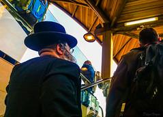 Rush Hour (Voyen_Ras) Tags: people street rushhour hurry fast life travel urban survive explore learn watch portrait telaviv photography commute destination outdoor reflections color vivid faith race flickr flickrfriday