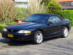 Ford Mustang GT convertible 1996 nr3543 (Ardy van Driel) Tags: pnpn10 softtop