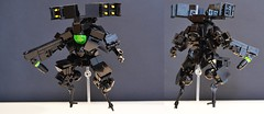 LCS Hardsuit Deployed (Milo _Z) Tags: lego toy hardsuit robot mecha black space suit lcs