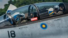 P1910598 RMAF M52-18 (maswengskul) Tags: limalangkawi lima17 lima2017 langkawi malaysia royalmalaysianairforce fighterjet su30mkm su30 sukhoi tudm rmaf