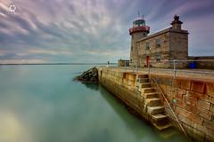 Howth Lighthoude Dublin , Ireland (Frederick Bancale) Tags: port fish harbour dublin ireland lighthouse howth