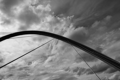 Tempest (Barrie T) Tags: newcastle quayside millenium bridge