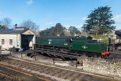 IMG_9716_LR.jpg (Paul Harris UK) Tags: dorset britishrailways 462 manston bulleid turntable sr swanagerailway pacific heritage no34070 locomotive southernrailway battle britainclass steam swanage england unitedkingdom gb