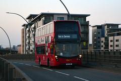 Go Ahead Docklands Buses (SI) EHV12 (BL15HBZ) (hassaanhc) Tags: adl alexander dennis enviro enviro400 enviro400mmc e400 e400mmc goaheadlondon goaheadgroup goahead e400h enviro400hybrid e400hybrid