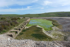 anti-tank obstacles, Cuckmere Haven (looper23) Tags: anti tank defences obstacles ww2 cuckmere haven sussex 2017 april