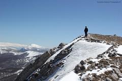 io sull'anticima nord 2.128 mt (Roberto Tarantino EXPLORE THE MOUNTAINS!) Tags: monte cornacchia anticima nord puzzillo abruzzo cresta 2000 neve snow inverno primavera aprile campofelice campo felice valle morretano