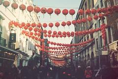 lantern season • (REALLYREALLY) Tags: vista200 agfa lantern england london chinatown analog film eos canon