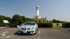 SLK@横浜港シンボルタワー (backyard822) Tags: lighthouse slk