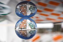 A double Reflection (julialarrigue) Tags: paris louisvuitton buren