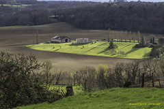 Campagne Girondine (Jean-Pierre Verduzier) Tags: colline vallée gironde dordogne nature culture champs campagen ferme paysage