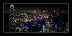 Big City Lights (Markus Messner) Tags: world asia china hongkong city travel famous skyline skyscraper night victoriapeak peak viewpoint lookout architekture canon eos dslr fullframe 5dmarkii welt asien metropole stadt reise berühmt hochhaus wolkenkratzer nacht aussichtspunkt architektur spiegelreflex vollformat 141 141pictures markusmessner