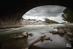 Orléans (http://www.jeromlphotos.fr) Tags: orléans 45 loire loiret poselongue longexposure sky ciel hdr pont bridge canon eos 5dmarkii 1740f4 centre eau fleuve