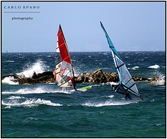 wind surf (carlito's2007) Tags: wind surf porto pollo palau mare vento colori sardegna vacanze