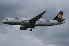 Lufthansa / A320N / D-AINB / EGLL 27L (_Wouter Cooremans) Tags: egll lhr london spotting spotter avgeek aviation airplanespotting lufthansa a320n dainb 27l a320neo a320 neo