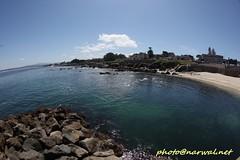 Lovers Point Park and Beach (Narwal) Tags: pacificgrove california ca usa 美國 加州 太平洋叢林 canon fisheye lens 15mm 魚眼 鏡頭 lovers point park beach