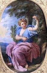 IMG_6467CA Eustache Lesueur. 1616-1655. Paris La muse Terpsichore. (Danse). The muse Terpsichore. (Dance)  vers 1655.  Louvre. (jean louis mazieres) Tags: peintres peintures painting musée museum museo france paris louvre eustachelesueur