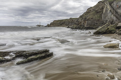 Hartley Bay (Ellieslion) Tags: photoshop layers ellieslion sea seascapes seatonsluice hartleybay whitleybay