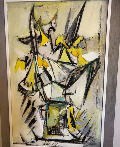 First painting to catch my eye....Abstract by Franz Kline.
