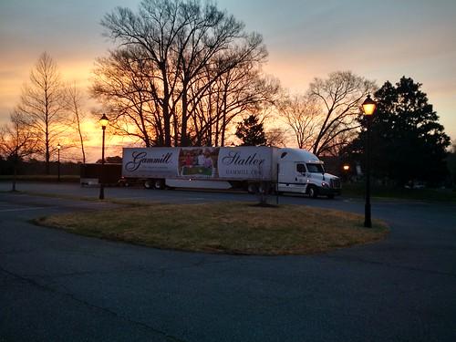Sunrise in Virgina