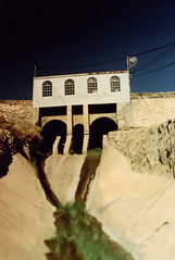 Fujica ST Aqueduct Alabama Gates (▓▓▒▒░░) Tags: vintage classic retro analog mechanical 35mm film camera history japan 70s 80s california west coast historic desert abandoned ruins highway 395 owens valley sierra nevada mountains eastern lone pine big independence bishop randsburg