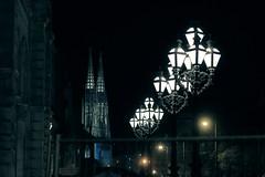 Night is coming on (No_Mosquito) Tags: vienna austria city night dark lights hall votive church urban historic lanterns canon powershot g7x mark ii