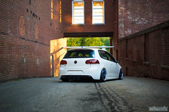 DSC_1575 (missamagnificent) Tags: wheel lab wheels oz pegasus ozgang ozpegasus mk6 mkvi golfr golf r vw volkswagen candy white bagged slammed stance stanced new england brick newengland newhampshire stancenation stanceworks canibeat