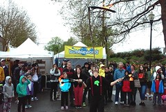 Jules and Flames - Apr 22, 2017 (Jeffxx) Tags: mt vernon street festival tulip april 2017 washington jules fire juggler bellingham scythe mcevoy