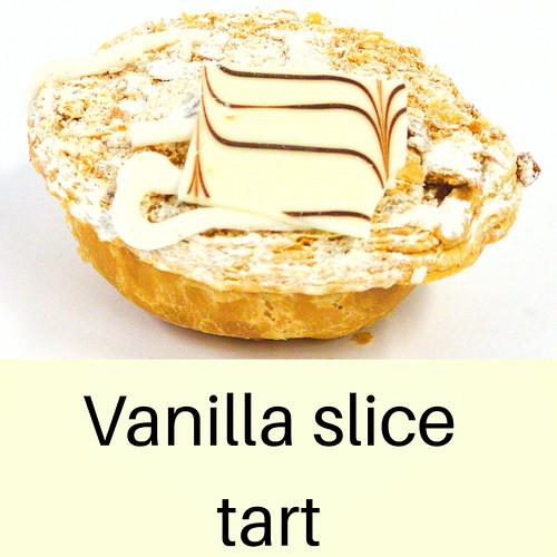 Vanilla slice tart
