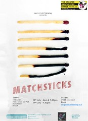 Matchsticks @FineCombUK @RachelMcMurray1 @CatMorefield 18-19 July @53two @GMFringe @createatsalford #Strangeways #prison #play (gmfringe) Tags: matchsticks finecombtheatre 53two drama newwriting theatre manchester greatermanchesterfringe gmfringe england uk britain stage performance events entertainment what'son actors july 2017 lancashire festival variety comedy prison play strangeways workshops rachelmcmurray gritty twowoman catherinemorefield universityofsalford smalltalk fatpenguin chubbypolarbear play4freefestival kingsarms salford basel switzerland untrainedheroes scripts